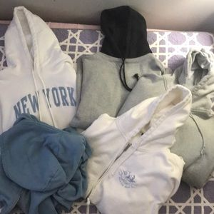 Brandy Melville hoodie collection!